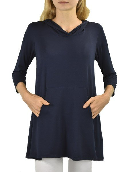 Comfy's Anna Tunic In Navy