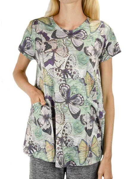 Inoah Inoah Butterfly Effect Top