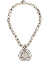 French Kande French Kande Du Terre Medallion With Swarovski Crystals
