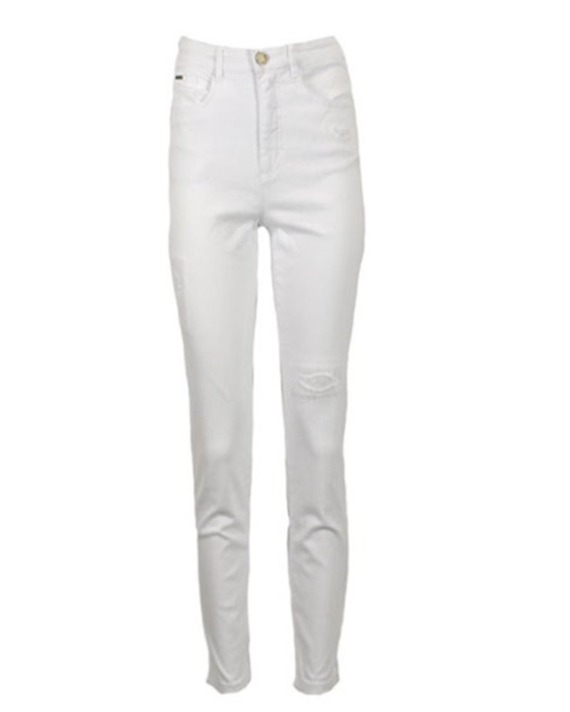 French Dressing French Dressing Suzanne Ankle Pant In White