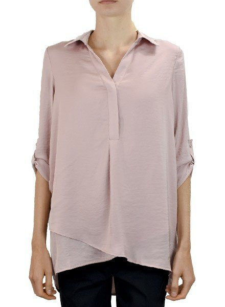 Renuar Soft And Beautiful Blouse In Mauve