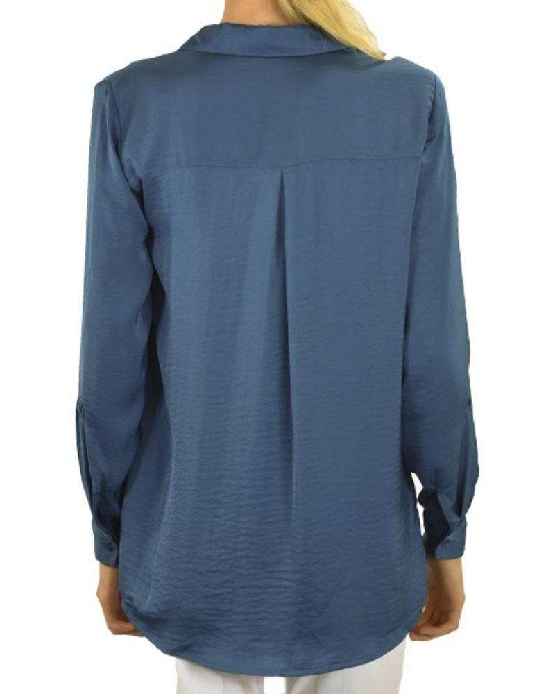 Renuar Renuar's Easy Shirt In Mallard