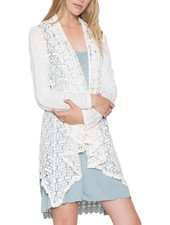 Crochet Jacket In White