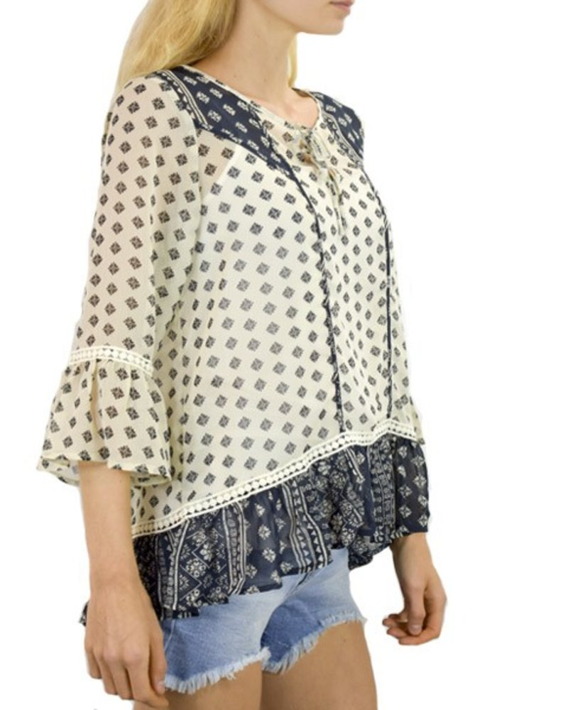 Summer Pheasant Blouse