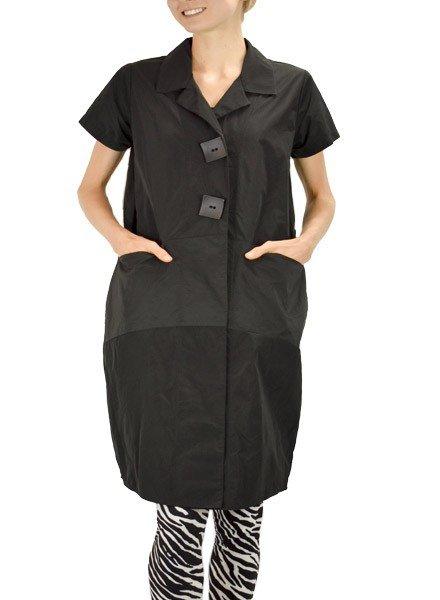 Comfy's Sun Kim Picasso Jacket In Black