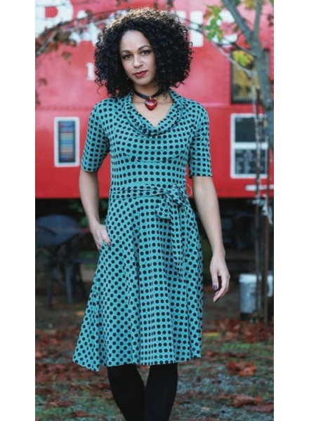 Effie's Heart Effie's Heart Gretchen Dress In Domino