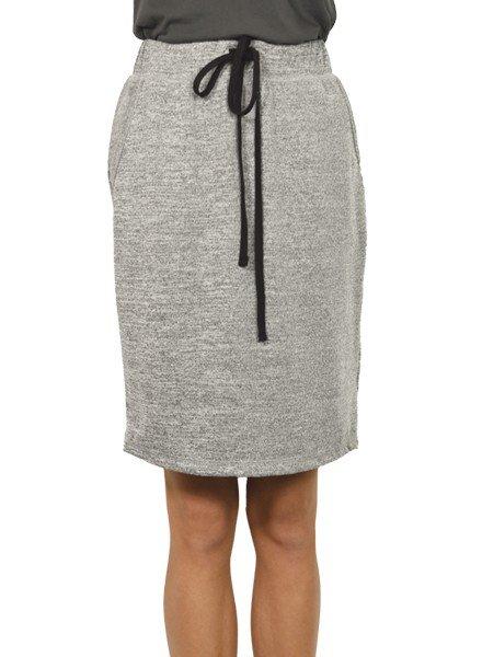 Inoah I Noah Penicl Skirt In Heather Grey