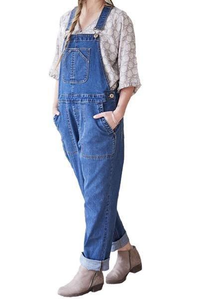 April Cornell April Cornell Cowgirl Denim Overalls