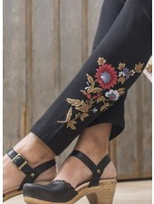 April Cornell April Cornell Tapestry Leggings In Black