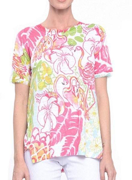 Flamingo Dance Top