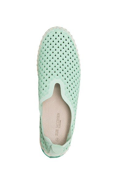 Ilse Jacobsen Tulip Shoe In Viridian Green