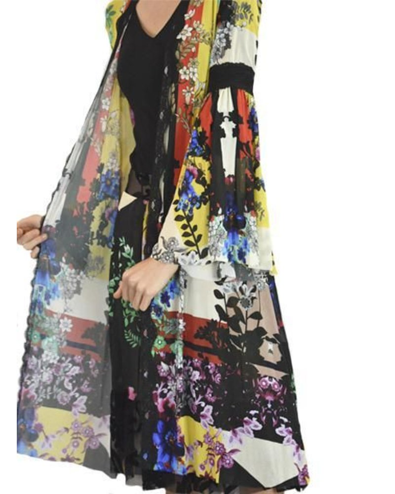 Petit Pois Kimono Duster From The Light House Collection