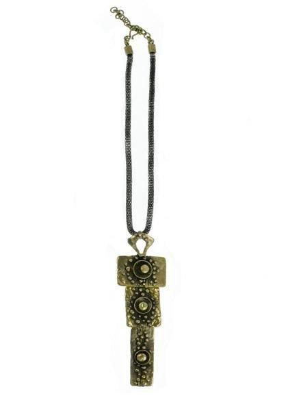 Chanour My Bronze Sardis Necklace