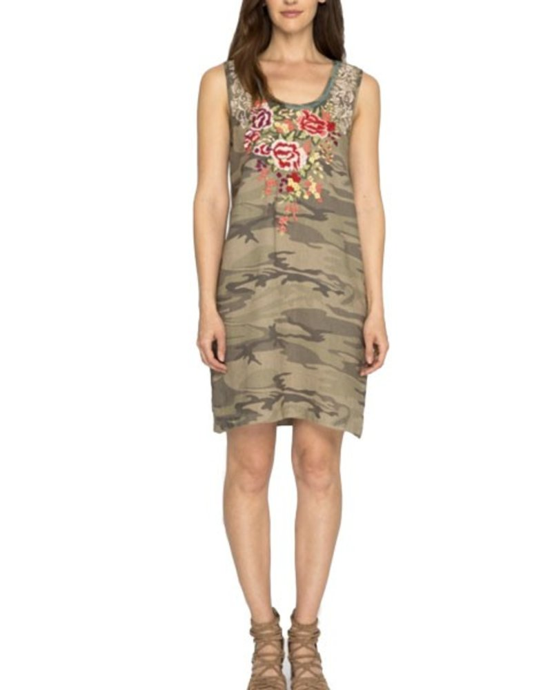 Johnny Was Johnny Was Adeline Side Button Tunic Dress