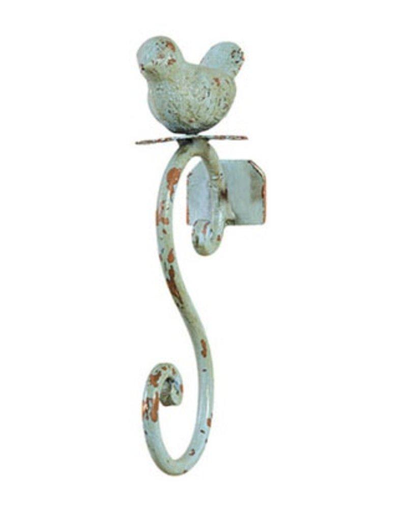 Blue Bird Metal Wall Hook