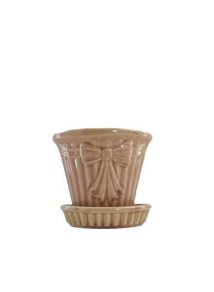 Teeny Vintage USA Pink Planter