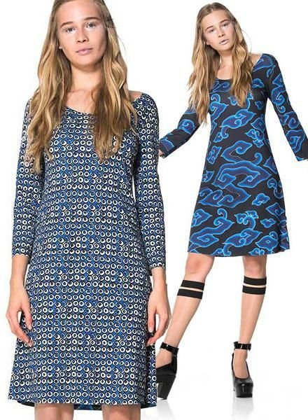 Animapop Animapop Reversible China Seas Dress