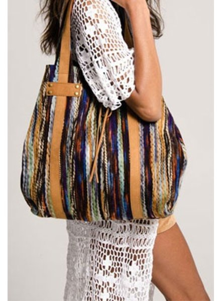 Braided Patchwork Tote