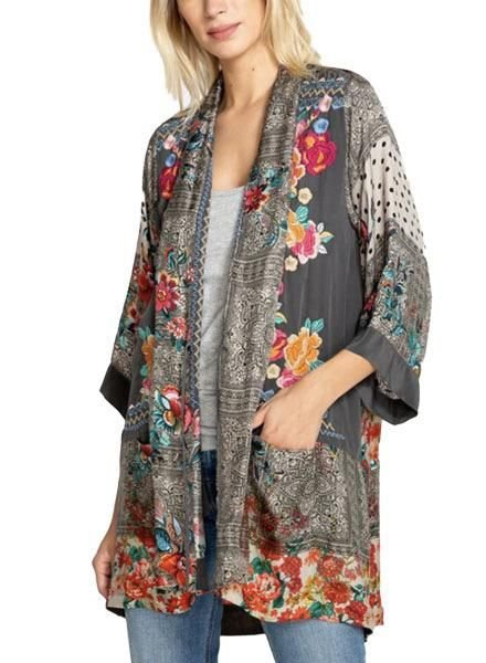 Johnny Was Johnny Was Ellamo Embroidered Kimono
