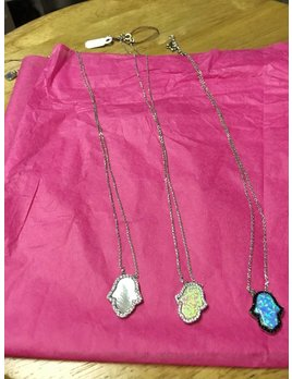 Hamsa With Stones