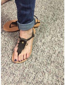 Tassel Flip Flops