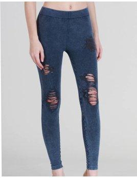 Distressed Vintage Leggings