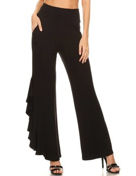 One Sided Ruffle Pant