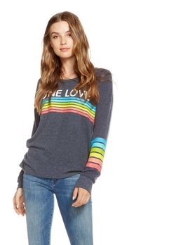 One Love Rainbow Pullover