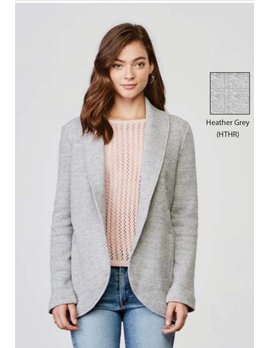 Waffle Knit Jacket