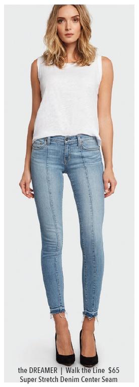 Borderline Dreamer Mid-Rise Skinny Jeans