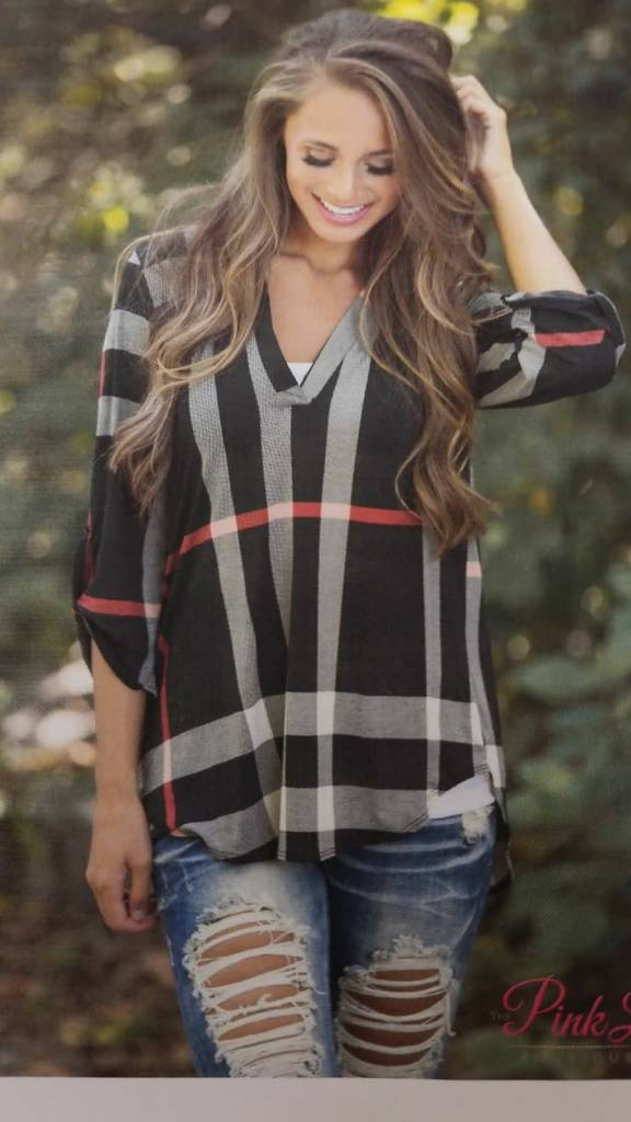 Burberry Print Long Sleeve Blouse Casual 2 Dressy