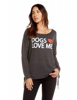 Dogs Love Me Sweatshirt