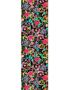 Sea Life Floral Oblong Scarf