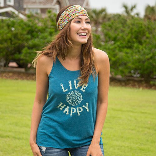 Live Happy Cozy Tank
