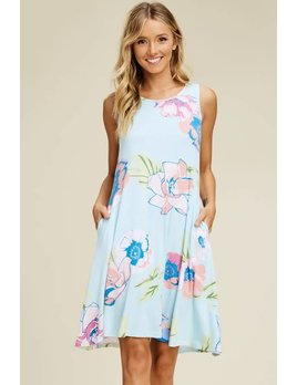 Tank Top Dress with Pockets