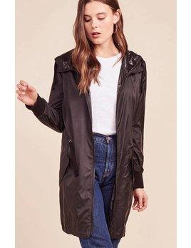 Nylon Drawstring Waist Jacket