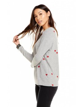Tiny Heart Love Knit Top