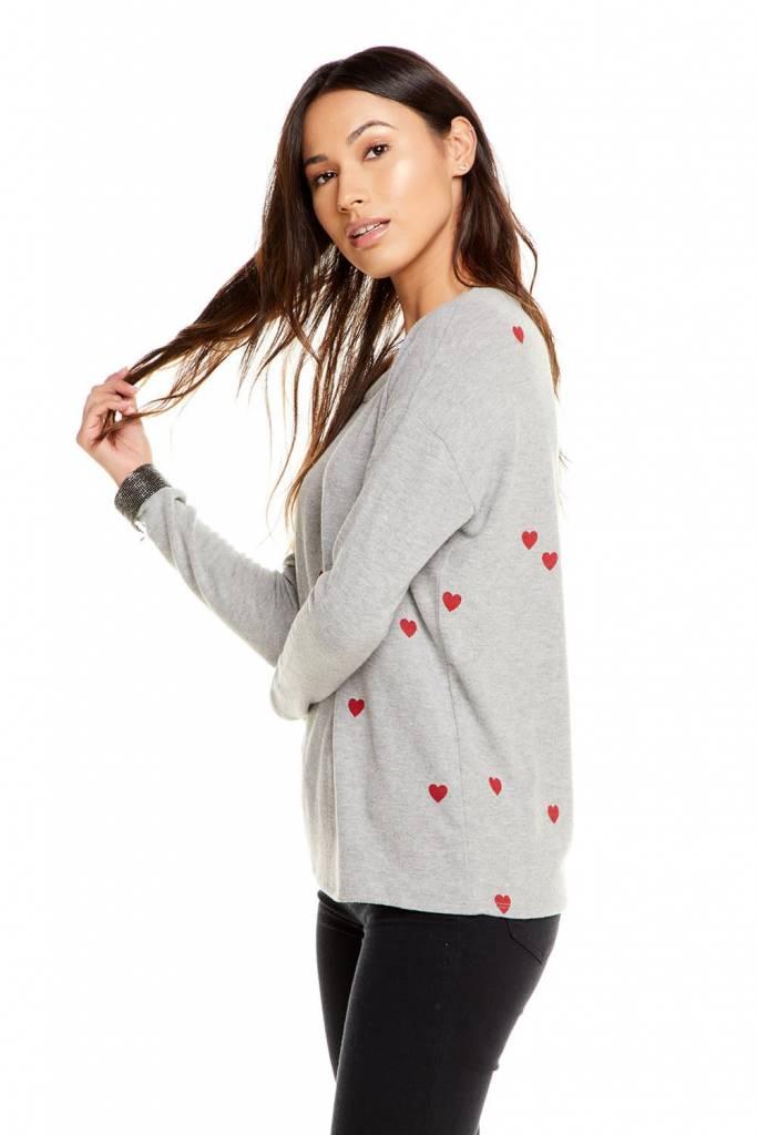 Tiny Heart Love Knit Top