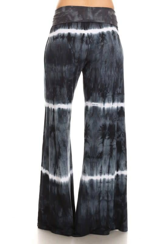 Tie Dye Wide Leg Pants