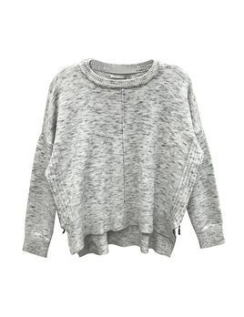 Dolman  Sweater with Zip Up Sides