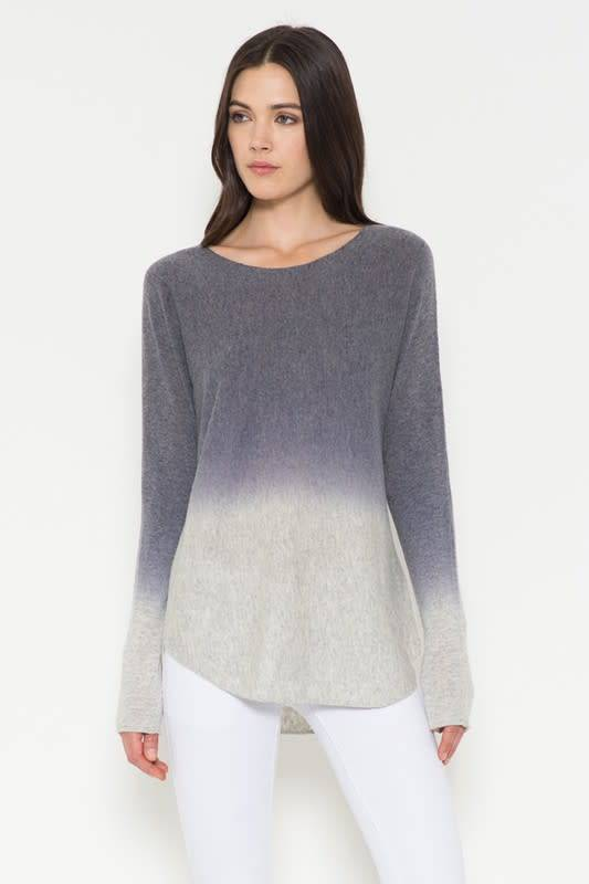 Ombre Knit Pullover