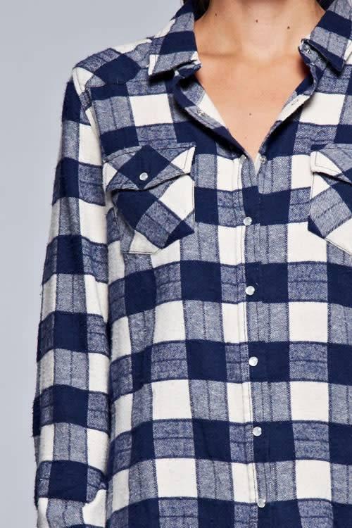 Checkered Button Up Shirt