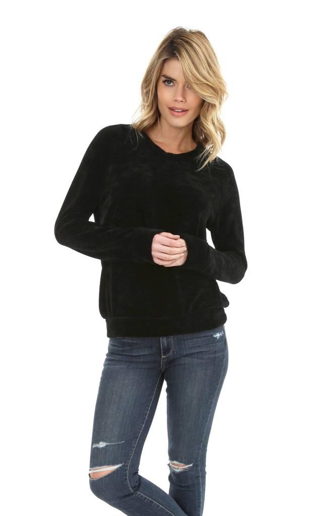 Chenille Raglan Sweater