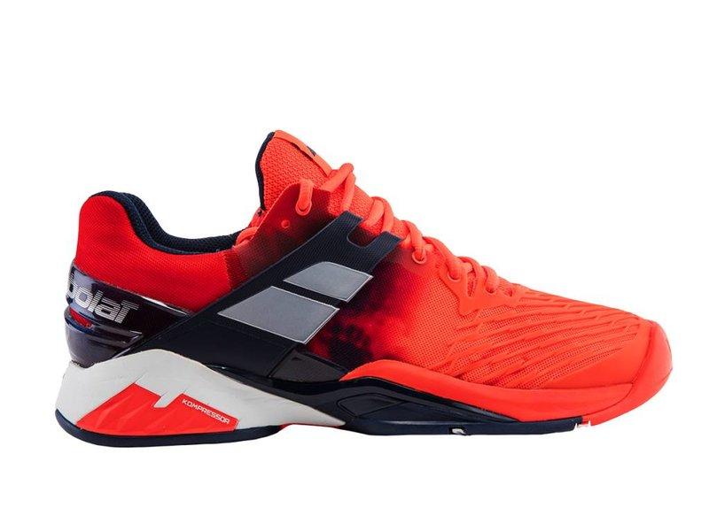 Babolat Propulse Fury AC Fluro Red Men's Shoe