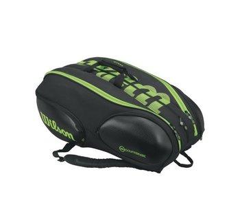 Wilson Blade 15 Pack Black/Green