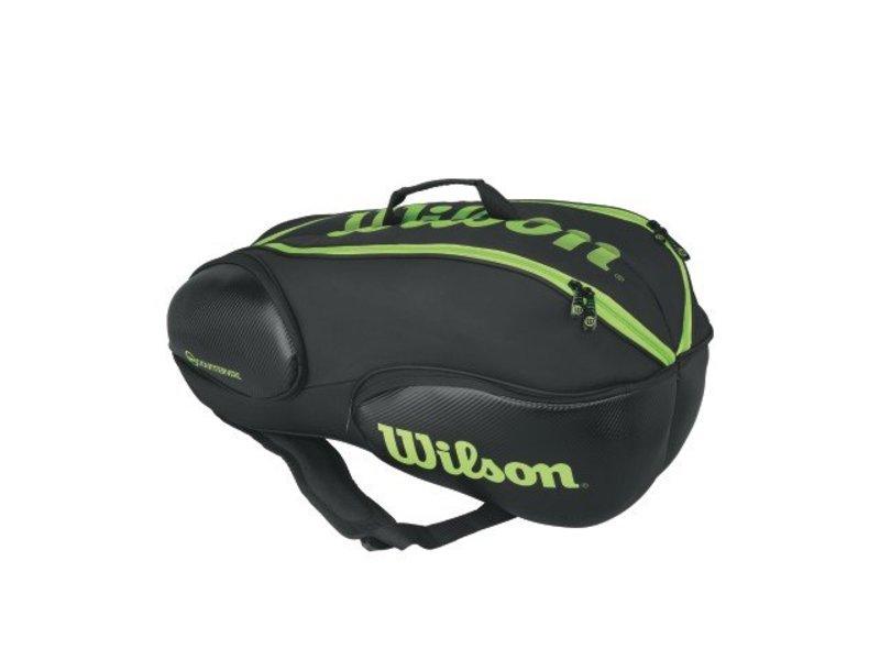 Wilson Blade 9 Pack Black/Green
