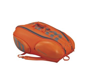 Wilson Burn 15 Pack Orange/Grey