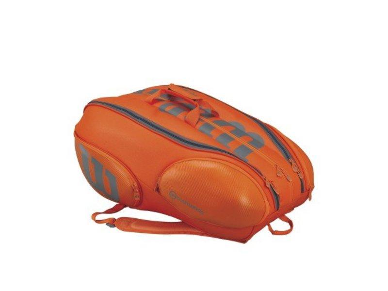 Wilson Burn 15 Pack Orange/Grey