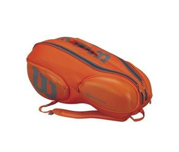 Wilson Burn 9 Pack Orange/Grey