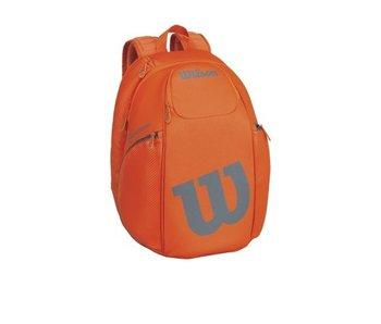Wilson Burn Backpack Orange/Grey